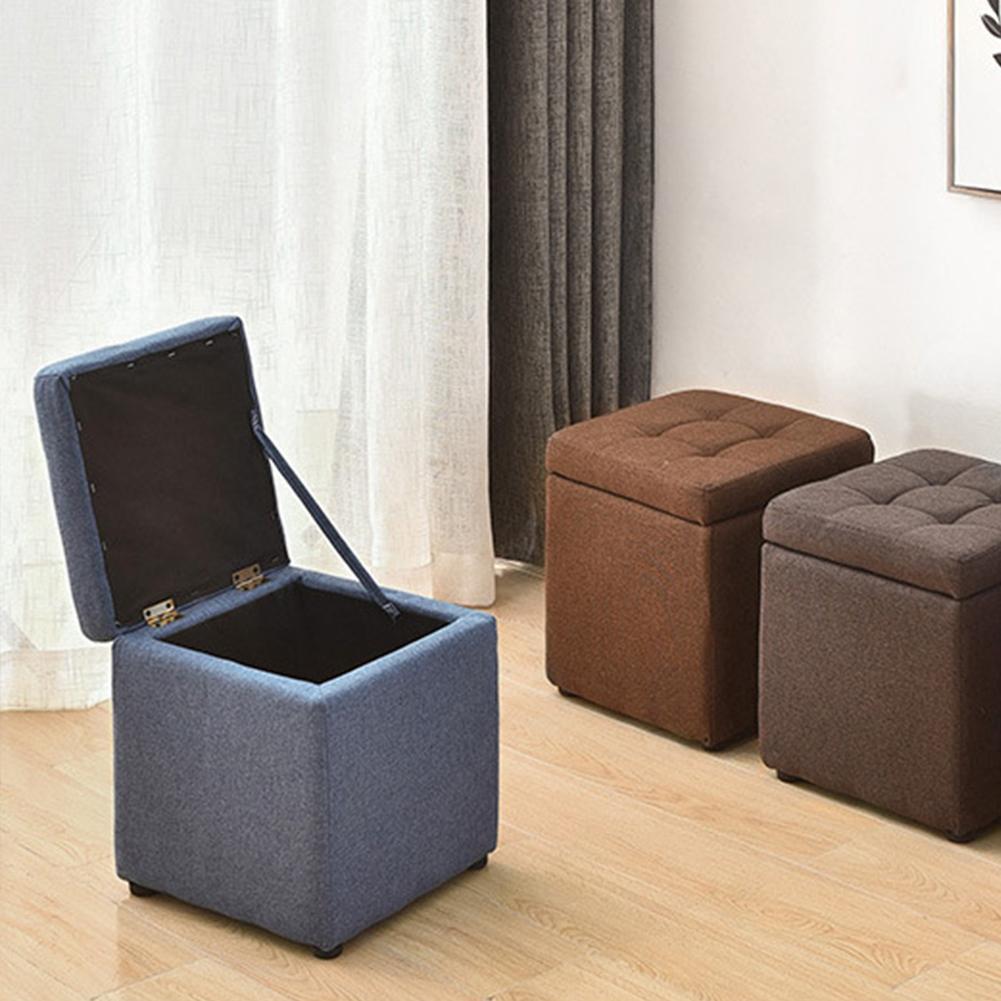 Boîte de rangement innovante polyvalente canapé tabouret stockage maison bureau sièges fournitures tabouret stockage pour vêtements ShoeToy petit article