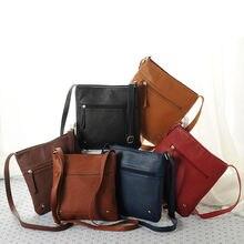 Роскошные Дизайнерские Сумочки женские Сумки из искусственной кожи женские сумки конверты обычные ретро конверт женские сумка-мешок через плечо Shoulderbag
