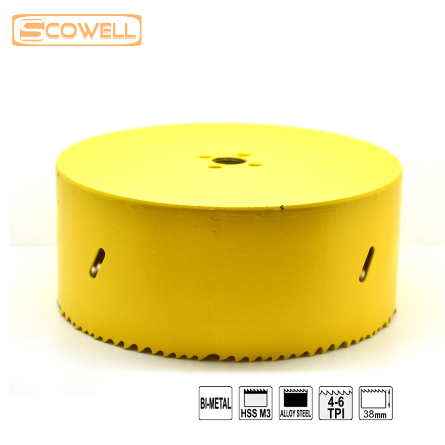 20%OFF Choose Size from 65mm to 92mm HSS Hole Saw Without Arbor2 for Metal Cutting, Bi-metal M3 Holesaw Cutter for Drilling Hole menwomen size to choose black bondage