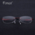 Fonex 2017 novos óculos de miopia mulheres óculos de leitura sem aro marca de luxo vermelho/roxo/rosa de memória titanium óculos frame ótico f10007