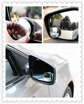 Car borderless small round blind spot mirror reversing aid for BMW E34 F10 F20 E92 E38 E91 E53 E70 X5 M M3 image