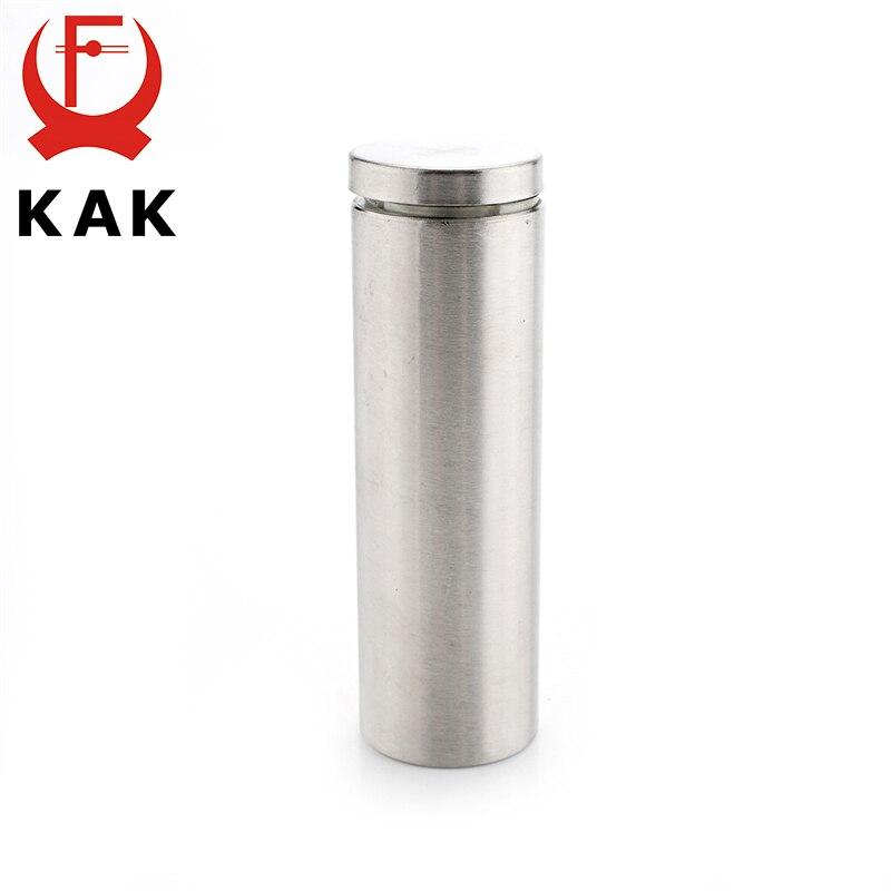 10 Stücke Edelstahl Acryl Werbung Befestigungs Schrauben 12mm X 22mm Glas Standoff Pin Nagel Befestigungen Glas Tür Hardware