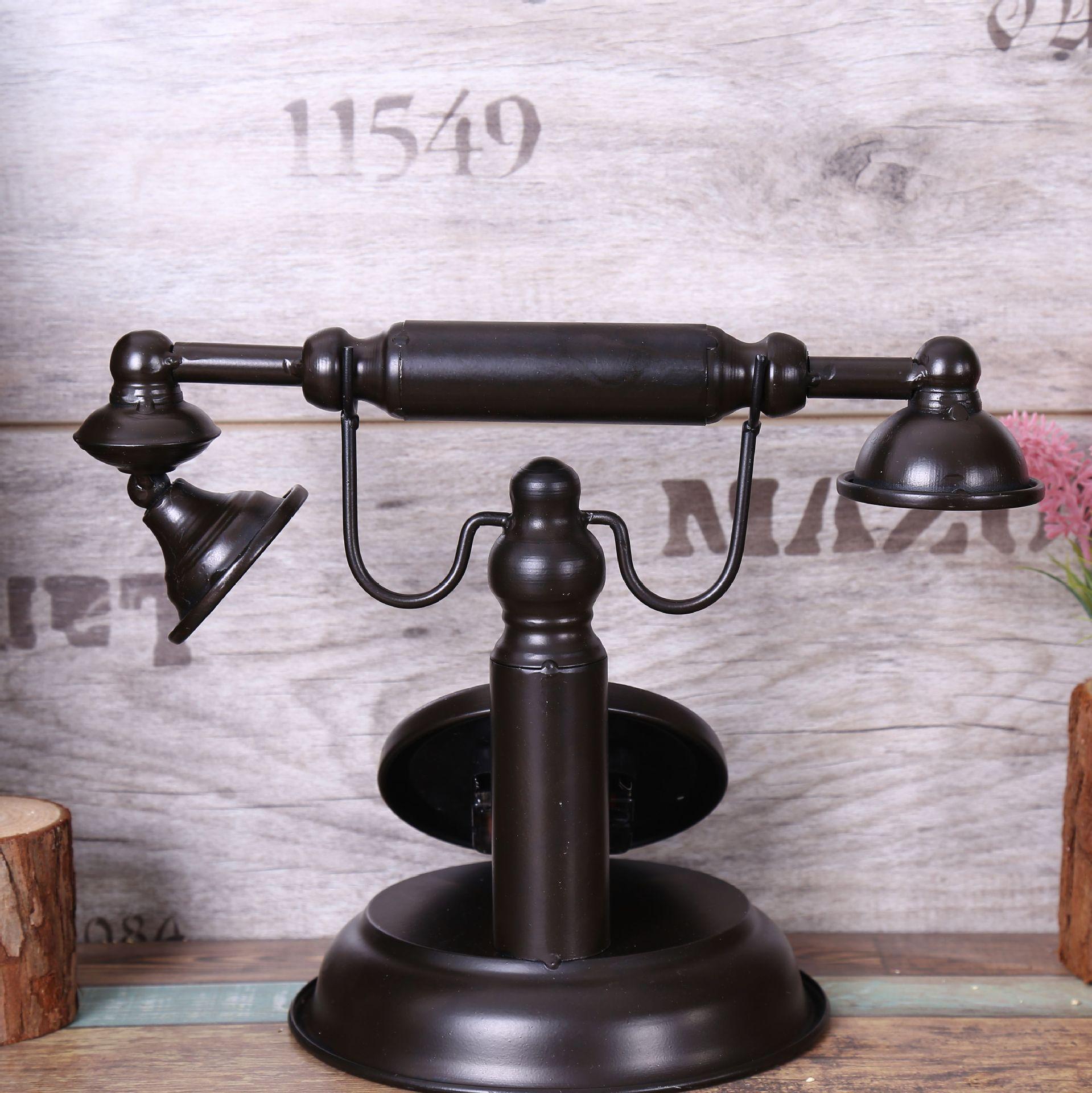 Sala Da Pranzo Country Chic shabby chic retro modello di telefono arredamento vintage