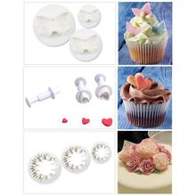Cake Decorating Fondant Baking Cookie Biscuit Cutter Set 33pcs