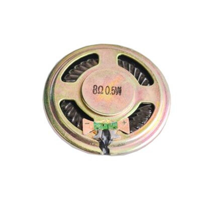 10pcs 8 ohm 0.5W Horn speaker 40MM 4CM diameter 8R 0.5W Small loudspeaker