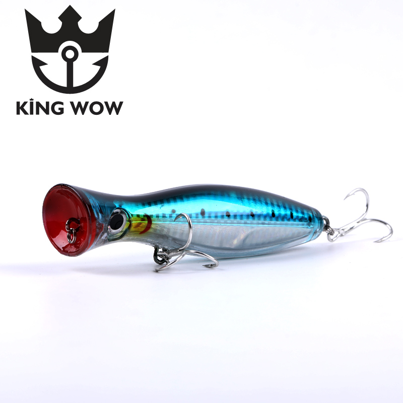 Fishing Lure Big Popper Hard Fishing Baits Top Water Lure Saltwater Fishing Bait Artificial Bait For Bass Isca Pesca Tackle