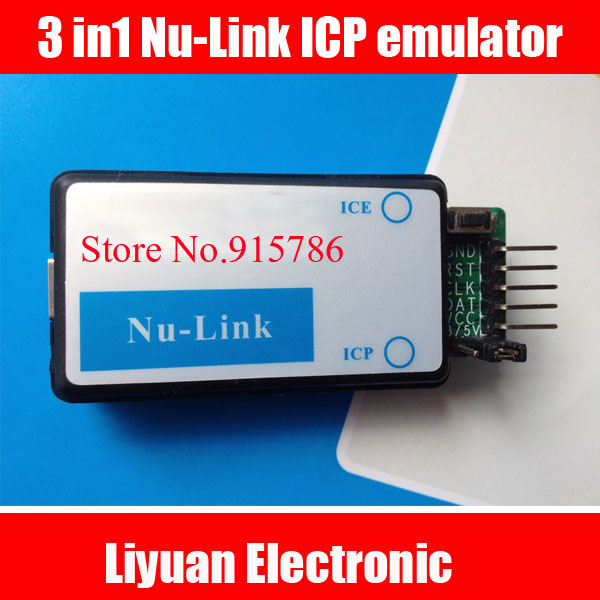 3 in1 Nu-Link ICP emulator / Nu Link downloader with offline (offline) download function free shipping