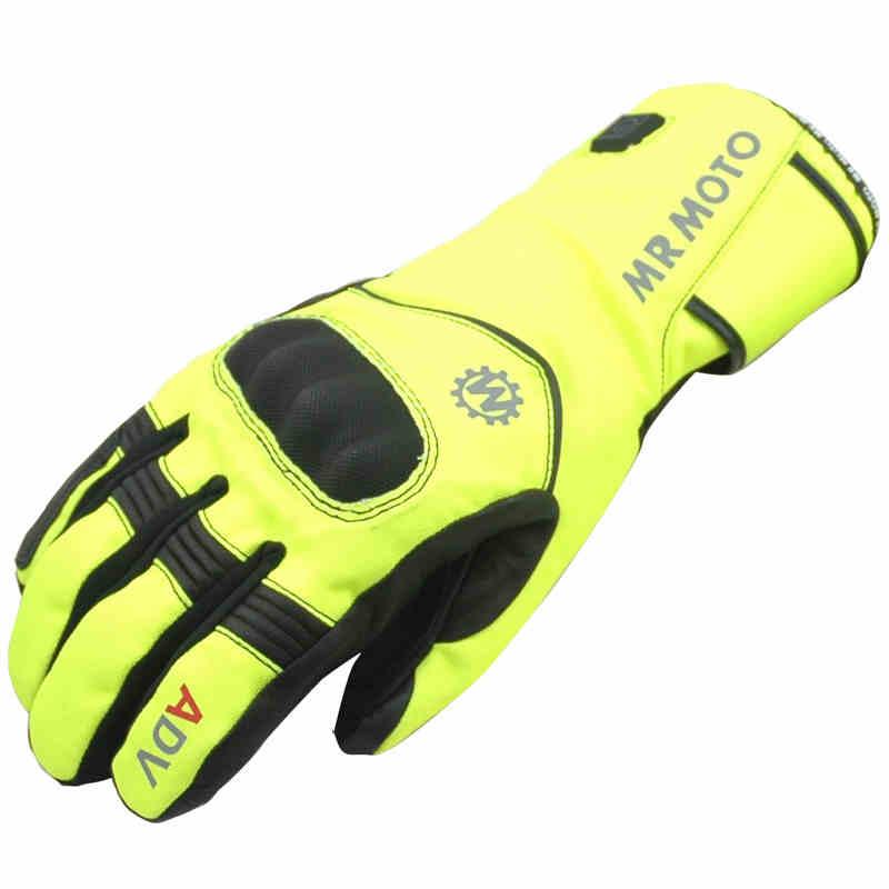 8.4 V gants chauffants batterie chauffe-mains hiver extérieur moto gants longs snowboard ski gants pour motocycliste protection