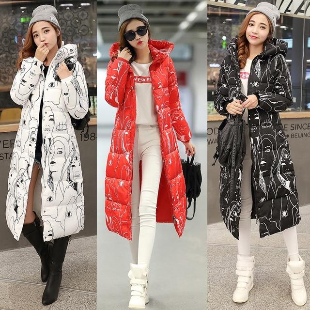 Beautiful!2017 Free Shipping New Autumn Winter Coat Design Padded Down Cotton Plus Size Slim Jacket Hooded Zipper Women Fashion