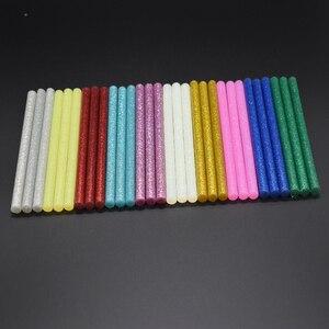10pcs Colourful 7mm*100mm Hot Melt Glue Sticks For Glue Gun Craft Phone Case Album Repair Accessories Adhesive 7mm Stick