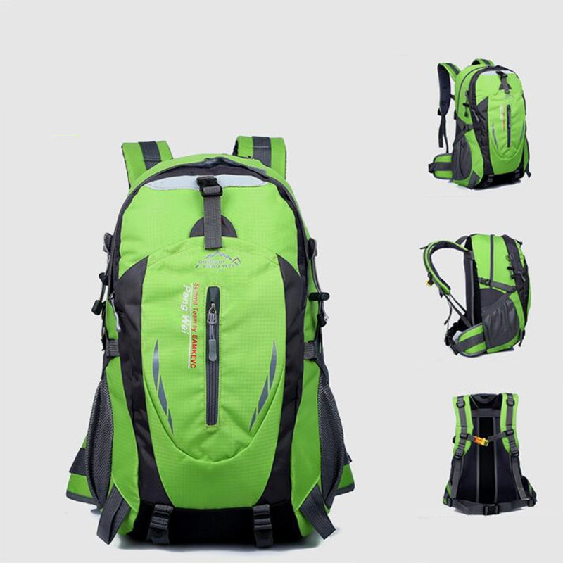 Image 2 - Hot Sale Nylon Black Backpack Waterproof Men's Back Pack Laptop Mochila High Quality Designer Backpacks Male Escolar S091-in Backpacks from Luggage & Bags