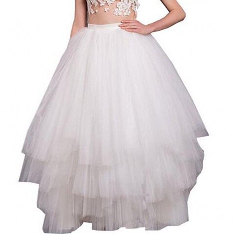Online Get Cheap Long White Tiered Skirt -Aliexpress.com | Alibaba ...