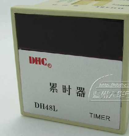 Wenzhou Dahua DH48L tired timer time relay contact or power signal wenzhou dahua dh48l cumulative timer time relay contact or power signal