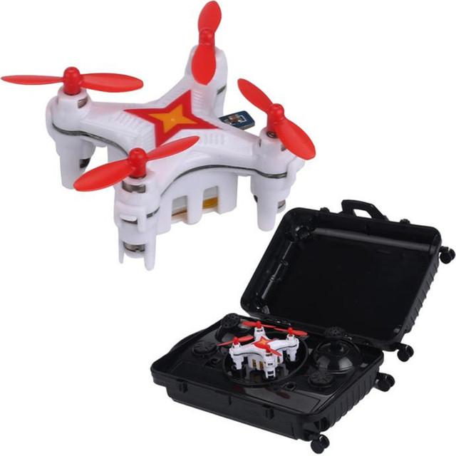 E904 Headless Modo RC Helicóptero Quadcopter 2.4G 6 CANALES 6axis Drone RC Quadcopter Rollo 3D Mini Pocket Maleta de Alta Qaulity