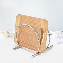 ANHO Edelstahl Ort Topfdeckel Halter Storage Tool für Küche Veranstalter Waren Pan Abdeckung Rack Küche Zubehör