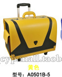 Free shipping  pvc / 1680D + nylon car Leather high-end storage box storage box car finishing luggage trolley with a lock box