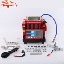 Diagauto Car Washing Tool 220V/110V 4 cylinder Fuel Injector tester & ultra Cleaner MST-30 nozzle washing machine