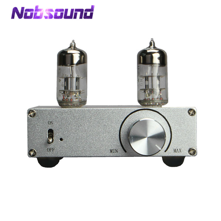 Nobsound Mini 6N3 Vacuum Valve Tube Pre-Amplifier Stereo Hi-Fi Preamp Classic Matisse Amplifier lusya 6n3 drive tda7379 vacuum tube amplifier 38w 38w stereo audio amplifier board dc 12v