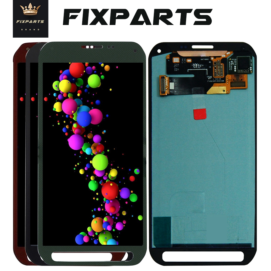 5 1 For SAMSUNG GALAXY G870 LCD S5 Active Display Touch Screen Digitizer Assembly G870 Green