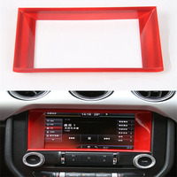 Sosung 1Pcs ABS Interior Car Universal GPS Navigation Guide Sticker Panel Holder Frame Cover Trim Styling