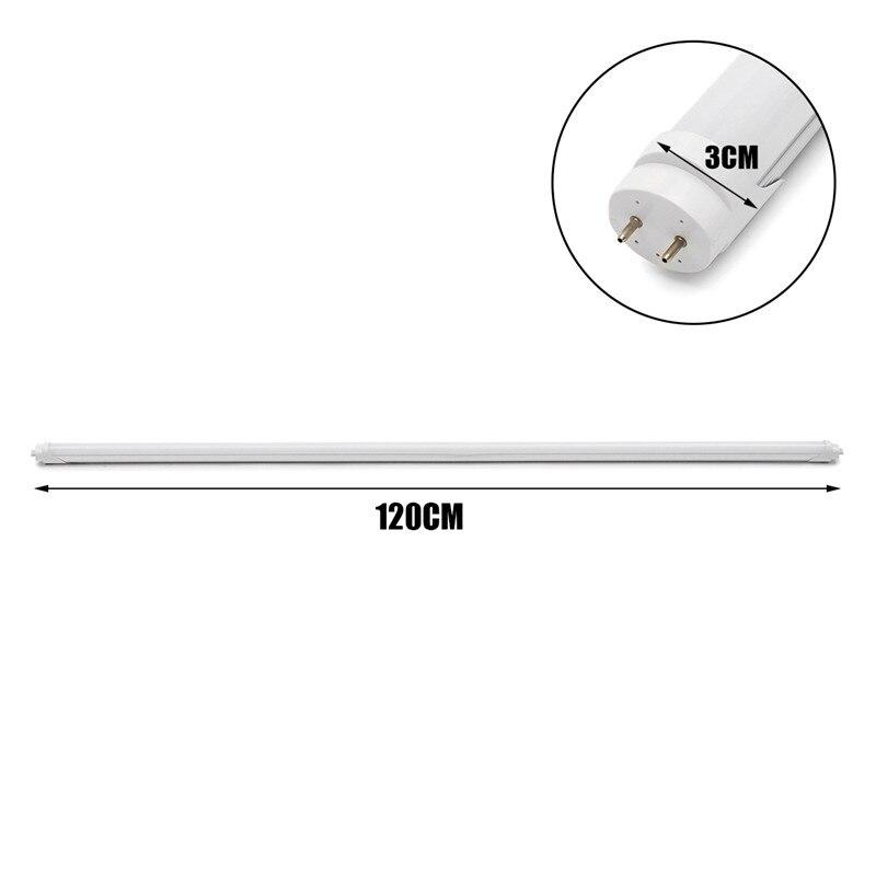 10 pièces LED Tube T8 Lampe Murale Intégrée Tube 18 W 120 CM 4ft 300mm T8 LED Lumières SMD 2835 Éclairage Blanc Froid AC85-265V - 6