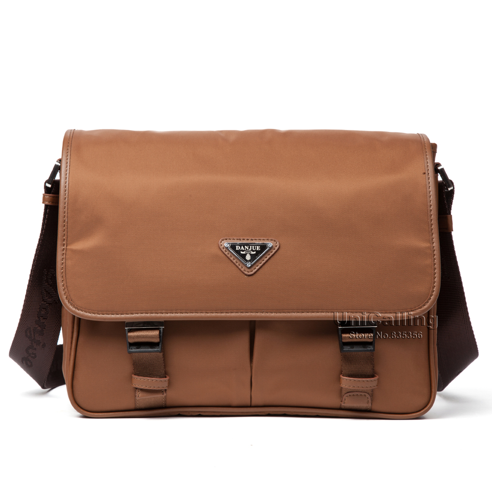 ФОТО Casual man bag classic hot waterproof Oxford men crossbody bag messenger bag men's fashion leisure messenger bag
