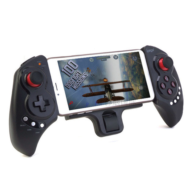 New IPEGA PG-9023 Telescopic Wireless Bluetooth gaming controller Gamepad game Joystick for Android IOS Phone/pad