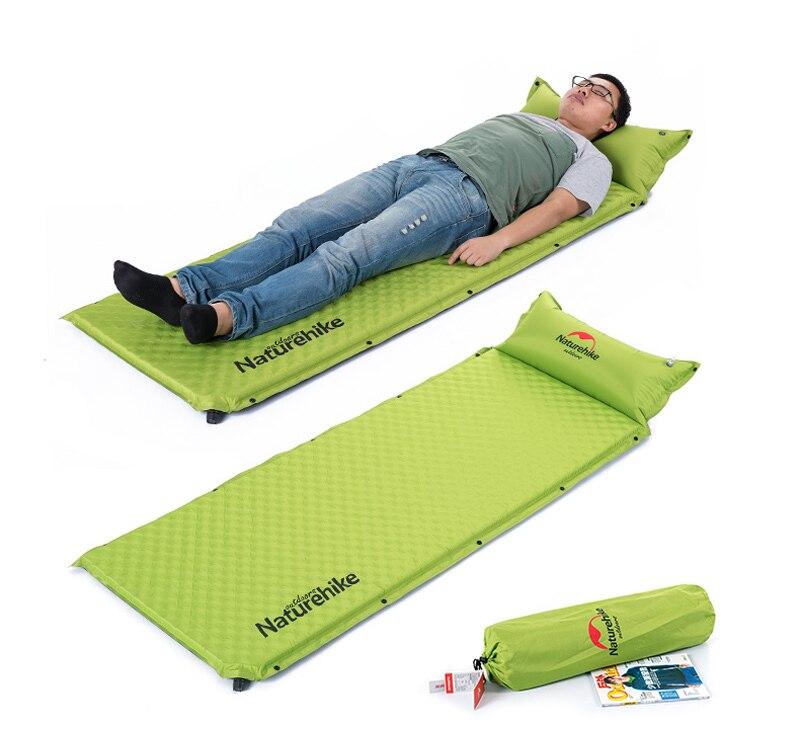 Naturehike 1 Person Automatic Inflatable Cushion Moistureproof Tent Mat Splicing Air mattresses NH19Q006-D