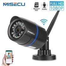 MISECU аудио H.264 + Wifi 2.0MP ip-камера собран в 64 GB SD слот 1920*1080 P P2P Беспроводной электронной почты push ИК ночного видения Открытый CCTV