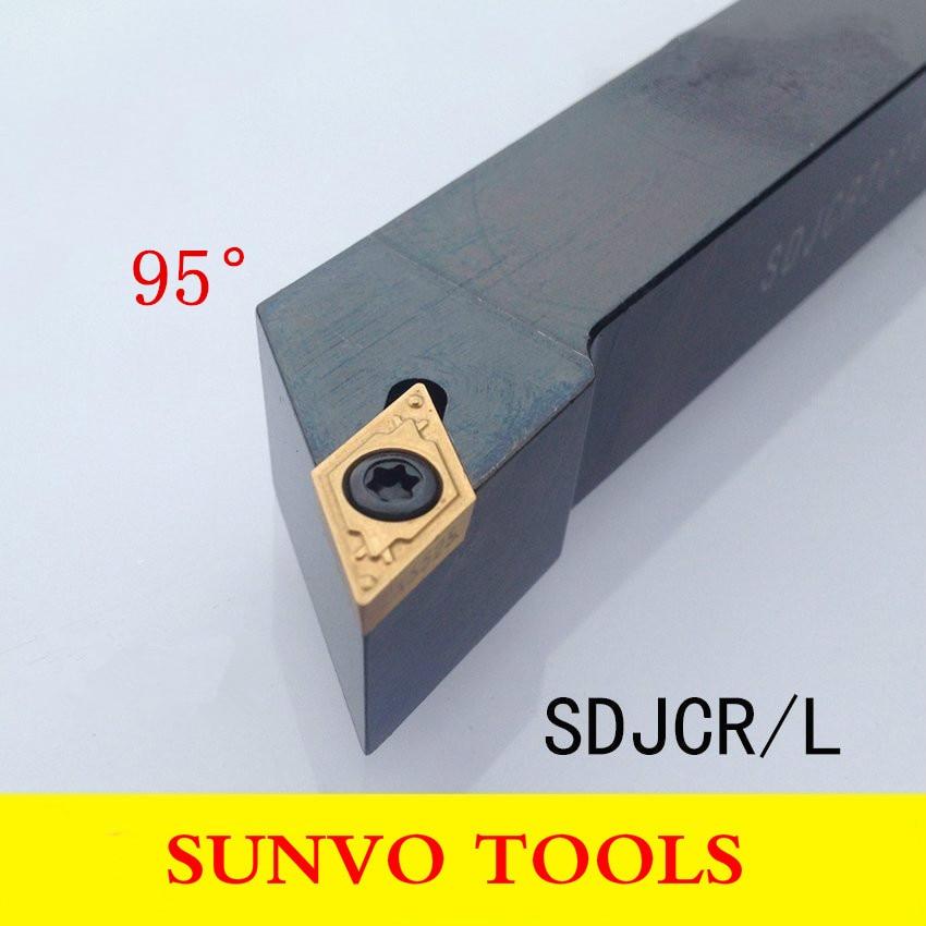 SDJCR2020K11 SDJCL2020K07 SDJCR2020K07 Use Carbide Insert DCMT11308 DCGT11308 DCMT070208 DCGT DCMT Turning Tools SDJCR SDJCL
