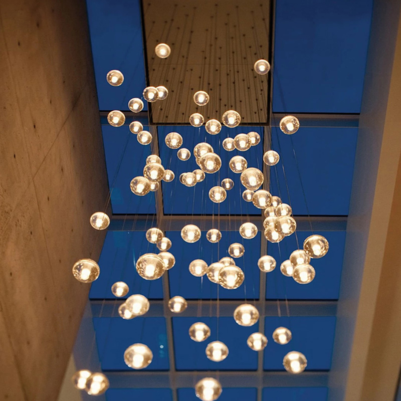 Modern pendant lights fixtures G9 LED source DIY design glass ball lamp shades for living dining room bedroom hanging lamp a1 crystal glass ball modern pendant lights living room bedroom dining room lamps and lanterns personalized dining led zl274