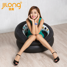 New Inflatable Sofa authentic inflatable sofa leather sofa cushion stool single flocking adult children leisure chair