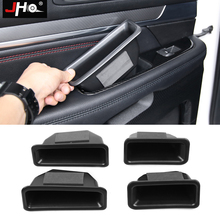 JHO Car Organizer Accessories Door Armrest Handle Storage Box For 2011-2019 Ford Explorer 2012 2013 2014 2015 2016 2017 2018 diy car 3d explorer fixed letters hood emblem chrome logo badge sticker for 2011 2012 2013 2014 2015 2016 ford explorer sport