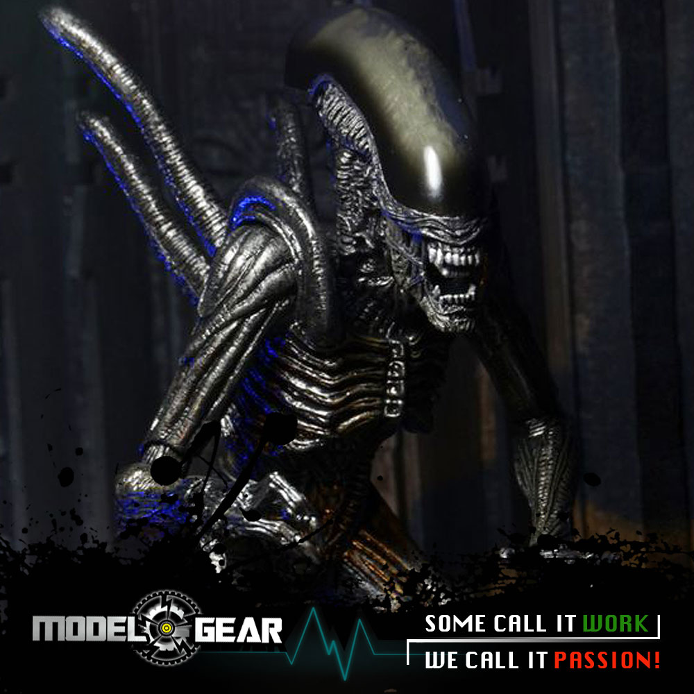 NECA Alien VS Predator AVP Series 7 Warrior Alien PVC Action Figure Model Toy 7'' predator action figure master wolf predator anime movie predator vs alien collectible model toy pvc 200mm
