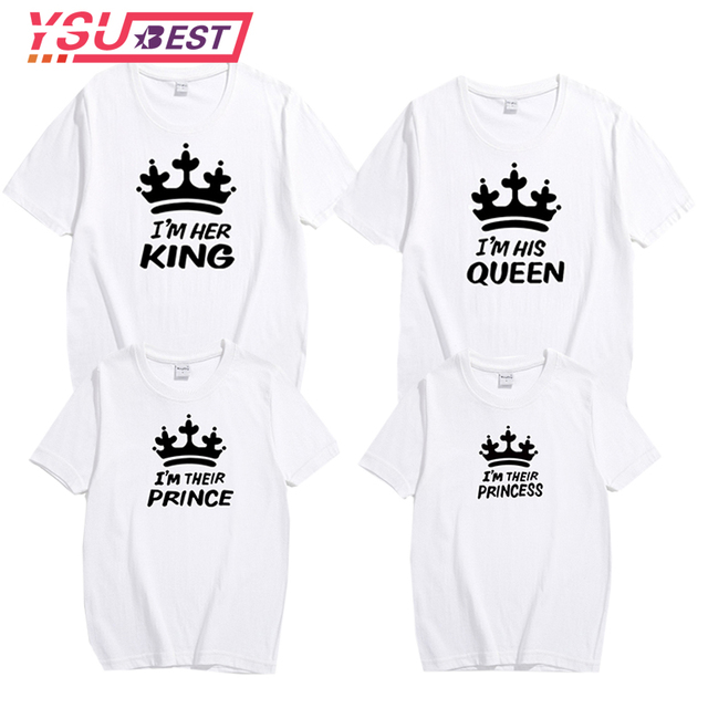 fec762b659b Summer Family Matching Outfits Matching Father Mother Daughter Son Clothes  Cotton Short Sleeve T-shirt
