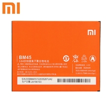 Xiao Mi Xiaomi BM45 Phone Battery For mi Redmi Note 2 redmi nota2 Redrice Note2 3060mAh Original Replacement