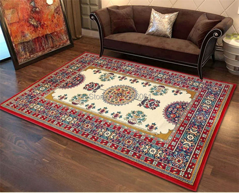 Hot Sale Shaggy Modern Carpet For Livingroom And European Area Rug Of Bathroom Bedroom Floor Carpets
