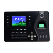 A-C081 Realand Fingerprint Recorder Employee Time Attendance Machine Black Color Design Attendance System With Free Software(China)