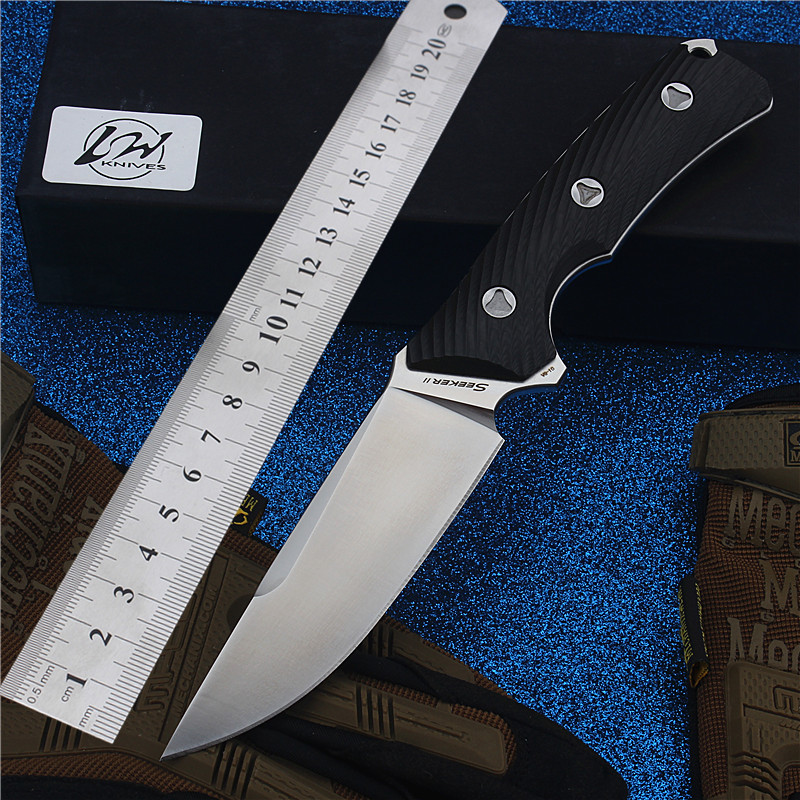 2017 New Free Shipping VG10 Steel Outdoor Straight Knife Self-defense Survival Camping High Hardness For Sharp Hunting Knives stenzhorn new goods wei explorer outdoor small straight knife self defense survival camping with high hardness for sharp fruit