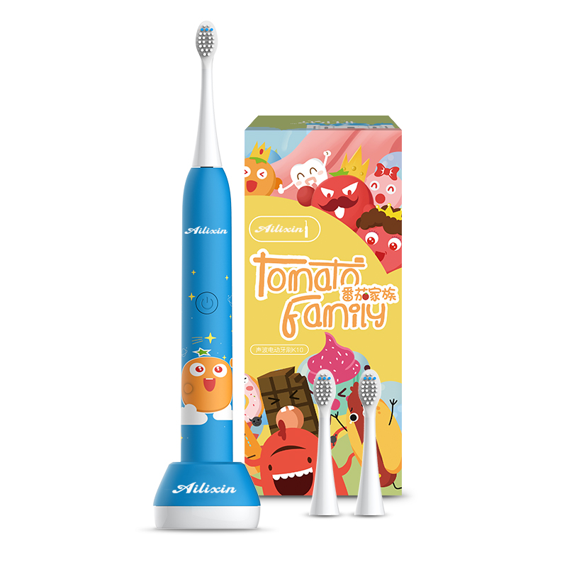 Hot-selling Children's Electric Toothbrush USB Electric Toothbrush Waterproof and Whitening Gingival Protection for Children