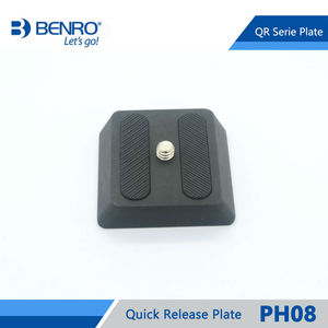 Image 2 - Benro PH08 Quick Release Plate Professional Aluminum PH 08 Plate For Benro BH0 BH1 HD1 Head Free Shipping