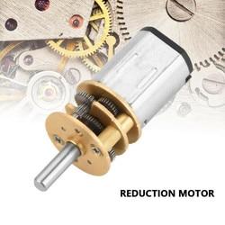 Миниатюрный мотор-редуктор N20, 15/30/50/60/100/200/300 об/мин, 3 В постоянного тока, 6 в, 12 В