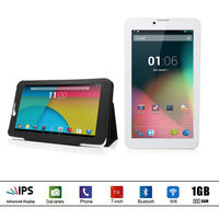 DragonTouch E70 7 inch 3G Unlocked Android Tablet PC, Quad Core 16GB IPS Screen GPS, 5.0MP Camera with AutoFocus