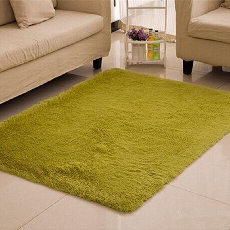 Green Large Carpets 160230cm Big Rug And Carpet For Living Room Bedroom Solid Floor