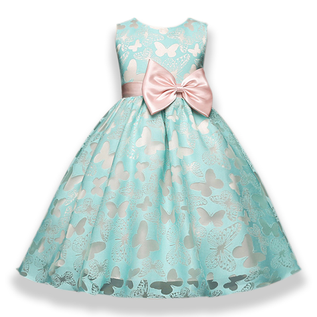 Aliexpress.com : Buy Butterfly Girl Dress For Girls Wedding Flower ...