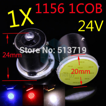 1X 1156 BA15S COB 24V LED Car External Light Source Turn Signal Light Automobile Xenon Lamp Auto DRL LED Car Styling Accessories 4
