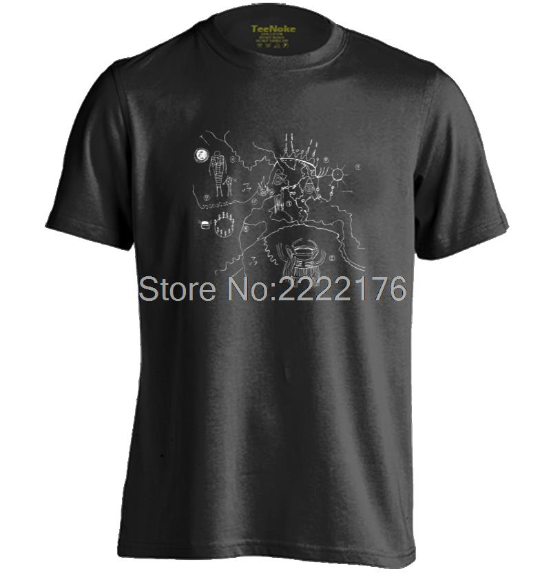 Twin Peaks Map Mens & Womens New arrival cotton t shirts