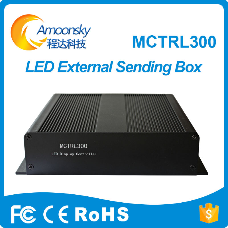 Novastar MCTRL300 external led sending card box support MSD300 synchronous LED control box 2018 hot selling(China)