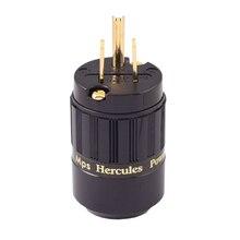 HIFI MPS Геркулес-M HiFi Мощность Pulg кондиционер Вилки разъем 24 К Позолоченные Мужской Мощность разъем Усилители домашние 1 шт.