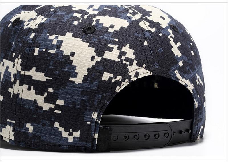 Fashion Snap back Camouflage Summer Cotton Baseball Caps